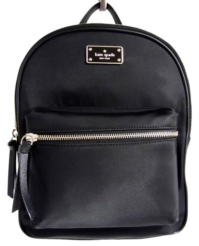 Kate Spade Wilson Road Small Bradley Black Nylon Backpack - Tradesy 4721291f36d3f