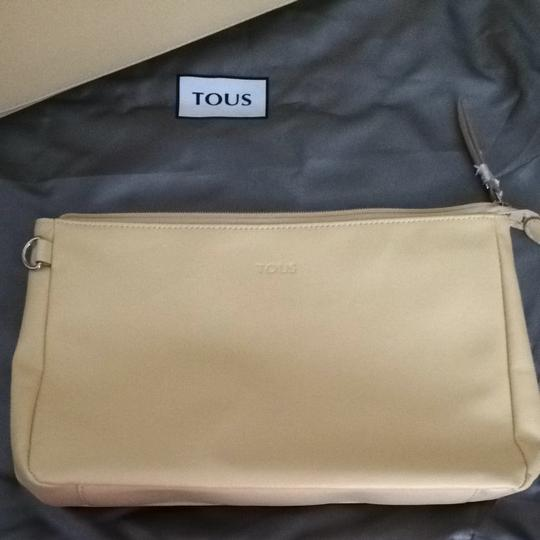 TOUS Tote in see thru/yellow