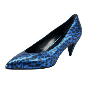 Saint Laurent Blue / Black Pumps