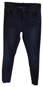 Mother Capri/Cropped Denim-Dark Rinse