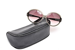a1c0b59ec8e5 Oliver Peoples OLIVER PEOPLES Tan Round SUNGLASSES Brown Ombre Lens