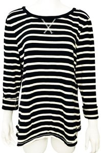 Gap Nautical Striped Elbow Patches Xl Sweater