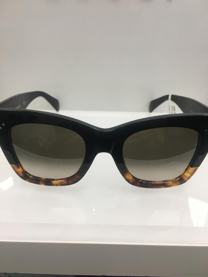 39472011650d Céline Black Tortoise Havana- Fu5 Z3 Women s Cl 41098 F S Fashion ...