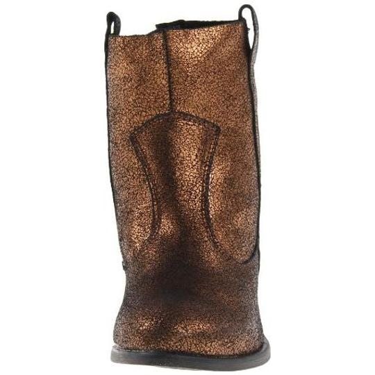 Charles by Charles David Western Metallic Comfortable Bronze Boots