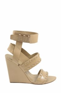 Alexander Wang Patent Leather Nude Wedges