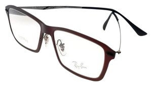 Ray-Ban RX7038-5456-53 Light Ray Men's Red Frame Clear lens Genuine Eyeglasses