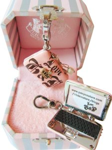 Juicy Couture NEW! Laptop Charm w/ Box Sold Out! Rare & Retired! Computer Crown