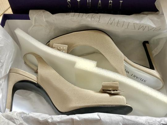Stuart Weitzman Nwt On Sale First Listed At 315 00 Silvery Taupe New Pumps Size Us 5 5 Regular M B