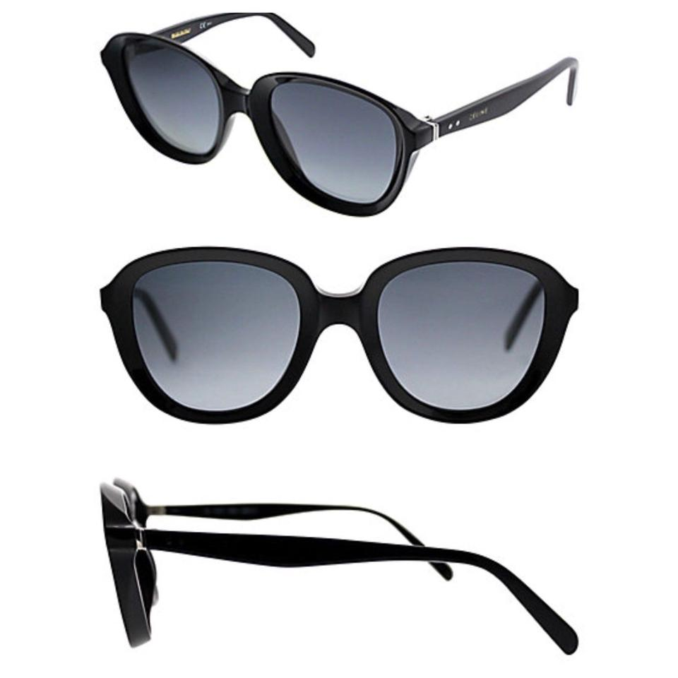 8c664f9d9c2 Céline Celine CL41448S 8079O 51mm Black Sunglasses Image 0 ...