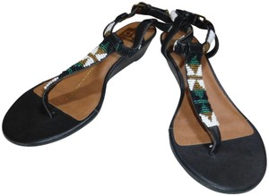 Dolce Vita BLACK MULTI-COLOR BEADS Sandals