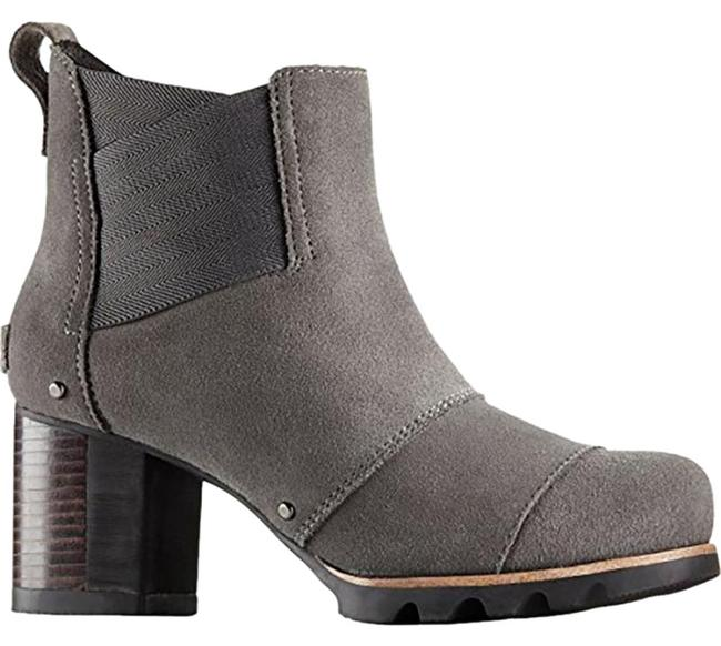 Item - Grey Addington Chelsea Suede Casual In Boots/Booties Size US 8 Regular (M, B)