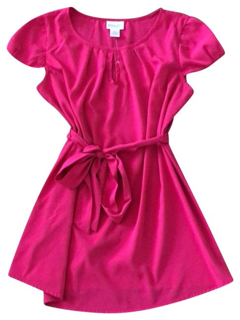 Item - Hot Pink Cap Sleeve Maternity Top Size 6 (S)