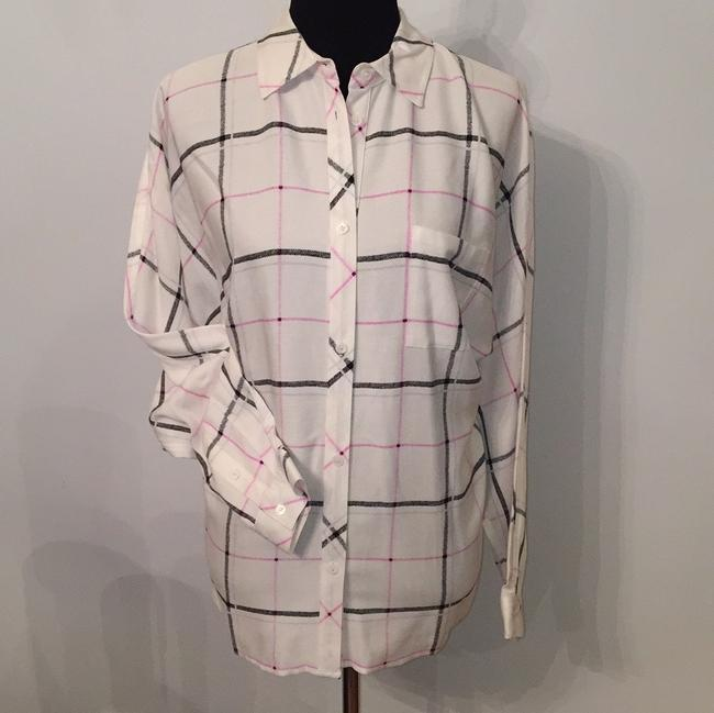 Vince Camuto Top white/black/pink/silver Image 1