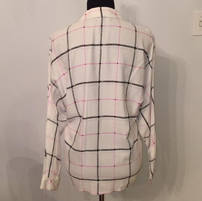 Vince Camuto Top white/black/pink/silver Image 2