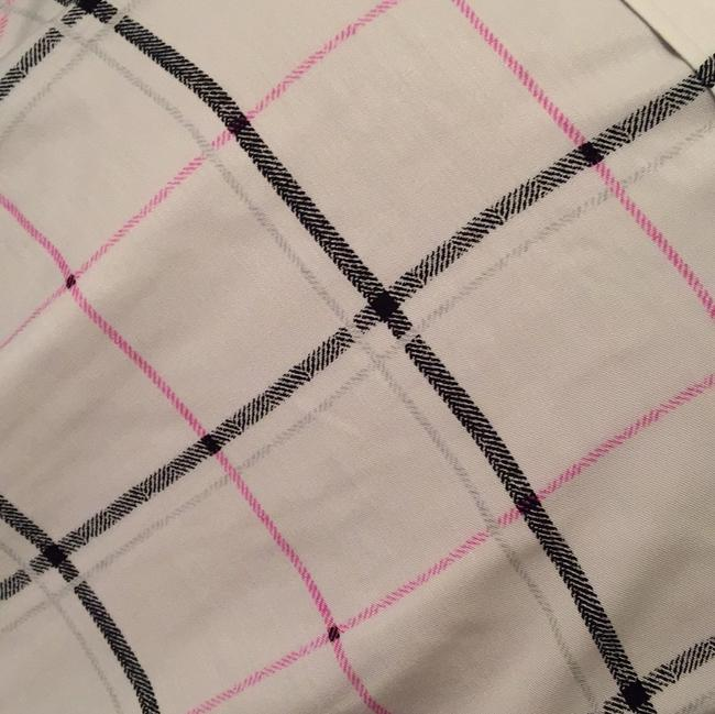 Vince Camuto Top white/black/pink/silver Image 3