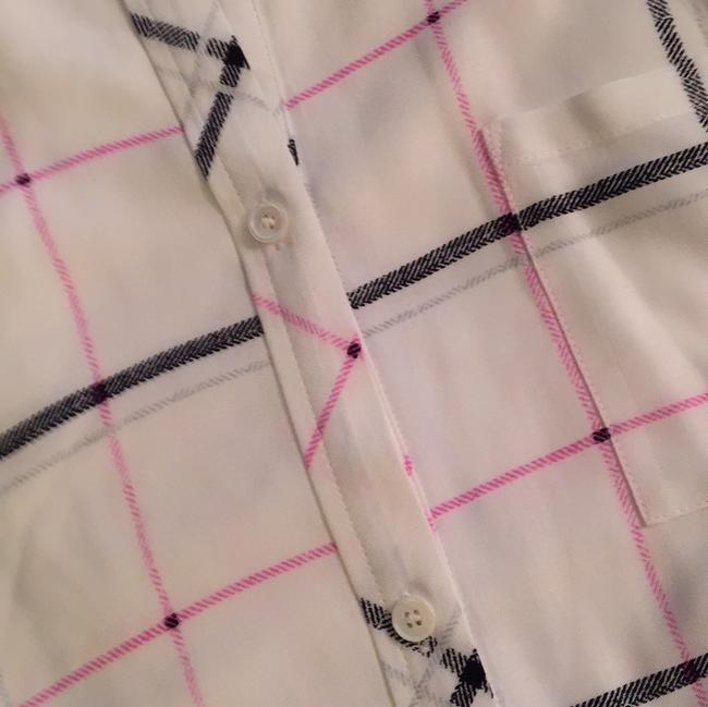 Vince Camuto Top white/black/pink/silver Image 7