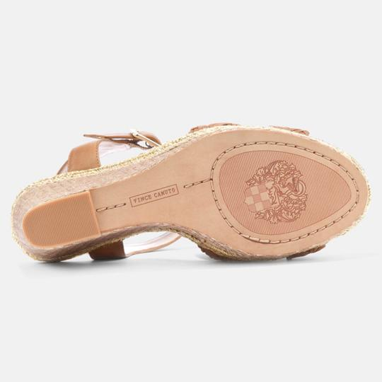 Vince Camuto tan gold Wedges Image 3