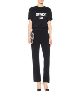 Givenchy Wool Stretch Stretchy Trouser Pants black