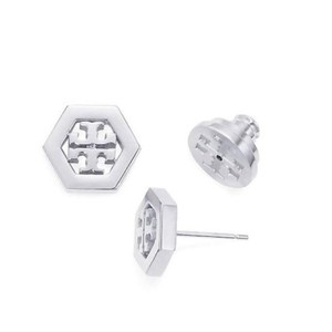 Tory Burch hex-logo earrings