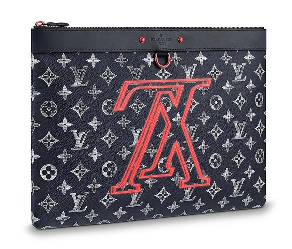 f7424efbb103 Louis Vuitton Pochette Apollo Upside Down Reverse Lv Ink Monogram ...