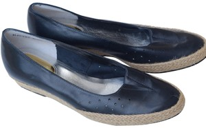 Ros Hommerson navy blue Flats