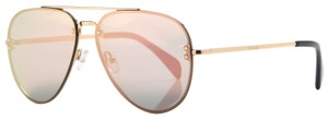Céline SALE NEW Celine CL 41392S/S Small Pilot Mirrored Aviator Sunglasses