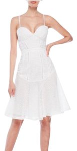 Kendall + Kylie short dress white on Tradesy