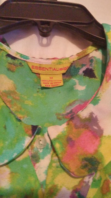 Essentia Leigh Top green,pink,multi Image 1