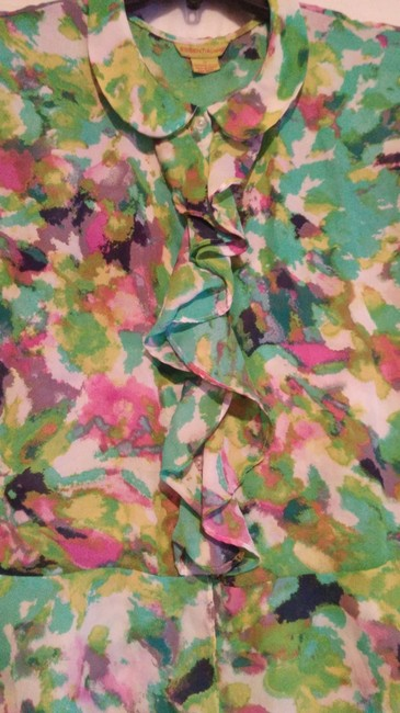 Essentia Leigh Top green,pink,multi Image 2