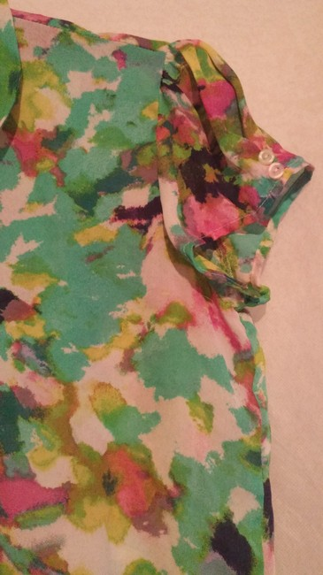 Essentia Leigh Top green,pink,multi Image 4