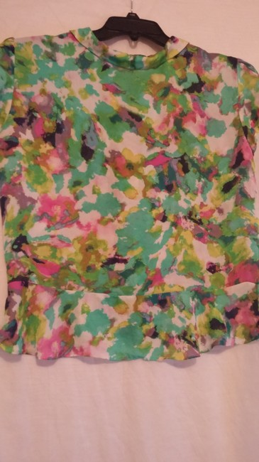 Essentia Leigh Top green,pink,multi Image 8