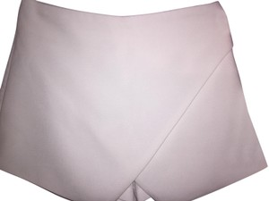White Fox Mini Skirt White