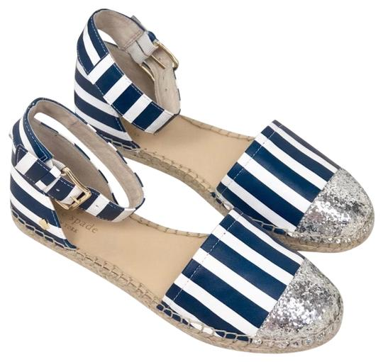 Kate Spade Blue white silver Sandals Image 0