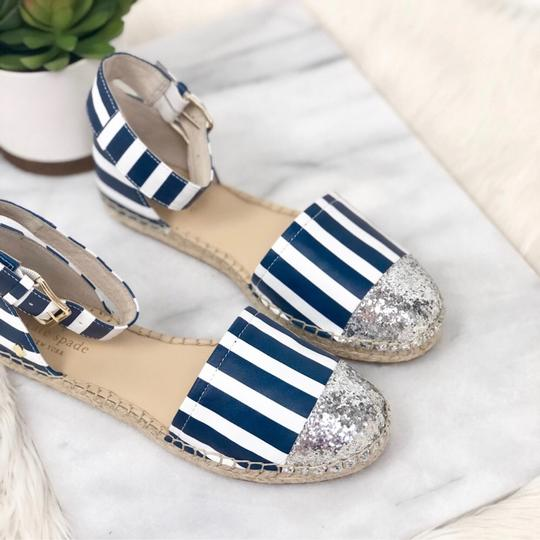 Kate Spade Blue white silver Sandals Image 2