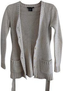 Theory Knit Cashmere Wool Ivory Sweater - item med img