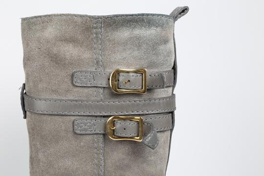 Gucci Suede Gray Boots Image 2