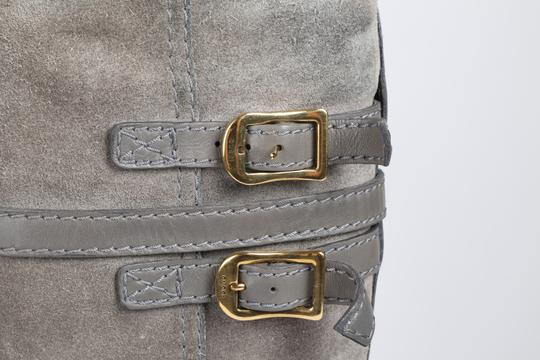 Gucci Suede Gray Boots Image 3