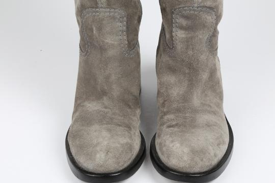 Gucci Suede Gray Boots Image 4
