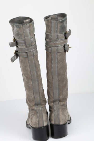 Gucci Suede Gray Boots Image 5