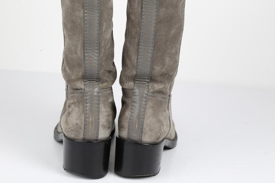 Gucci Suede Gray Boots Image 6