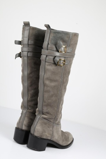 Gucci Suede Gray Boots Image 7
