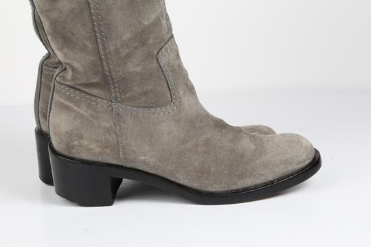 Gucci Suede Gray Boots Image 8
