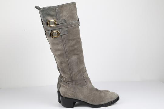 Gucci Suede Gray Boots Image 9