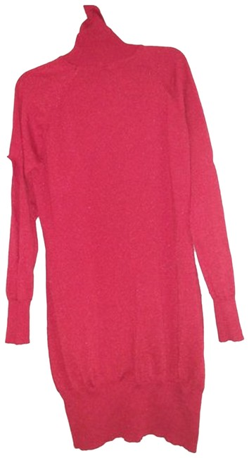 Preload https://img-static.tradesy.com/item/23621867/bright-sparkle-holiday-plus-size-dress-red-sweater-0-3-650-650.jpg