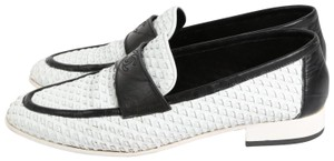 Chanel Casual White Flats