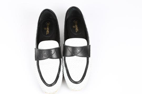 Chanel Casual White Flats Image 1