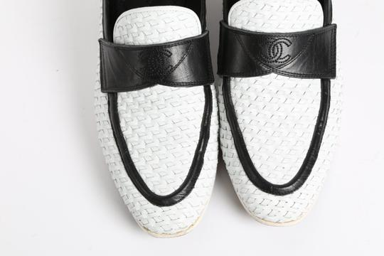 Chanel Casual White Flats Image 3