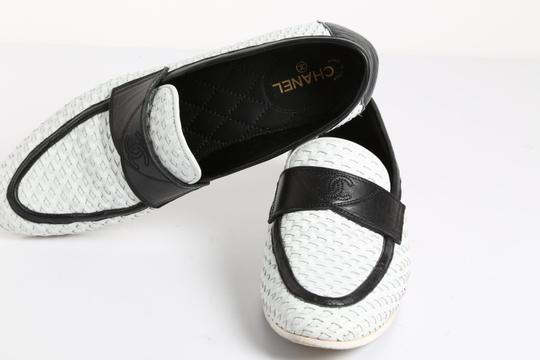 Chanel Casual White Flats Image 7