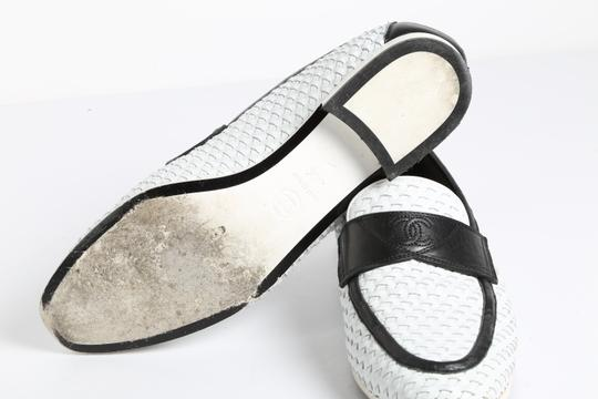 Chanel Casual White Flats Image 8