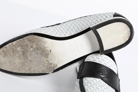 Chanel Casual White Flats Image 9